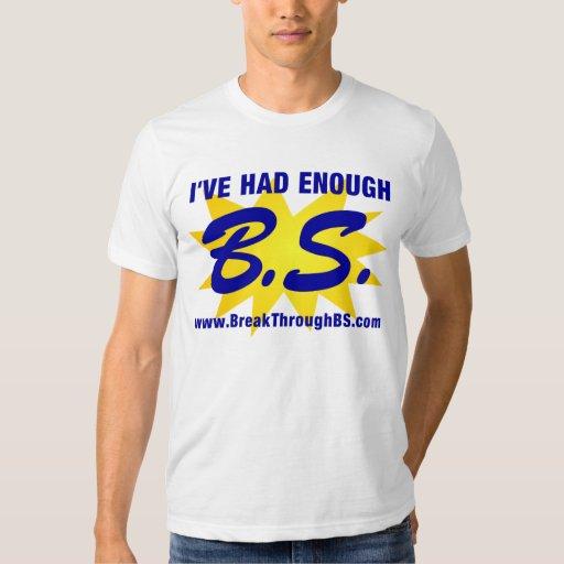 BS: He tenido bastante B.S. Remeras