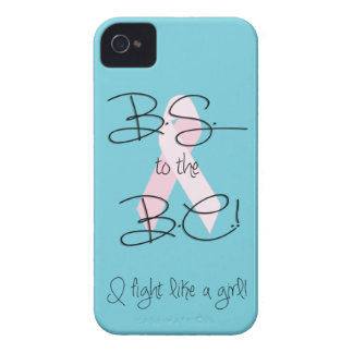 BS to the BC! Breast Cancer Fight iPhone 4/4s Case