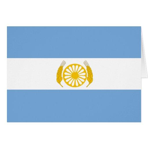 Bsa, bandera de la Argentina Felicitacion