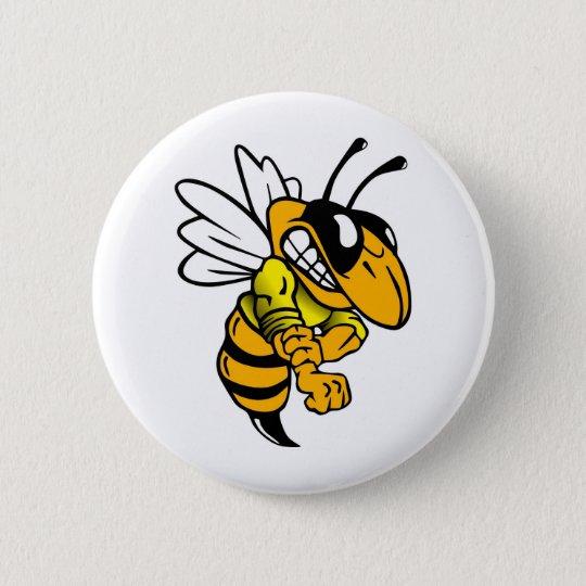 Bsaa Yellow Jackets Under 8 Pinback Button