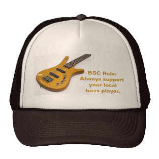 BSC Rule:Always supportyour localbass p... Hats