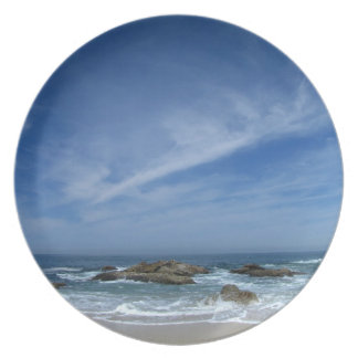 BSCW Bright Skies and Clear Waters Melamine Plate