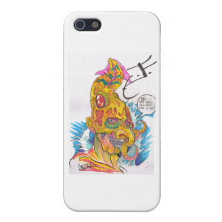 BSD Elemental Caricatures - Justin as Water iPhone 5 Cover
