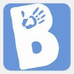 """BSF """"B"""" Sticker"""