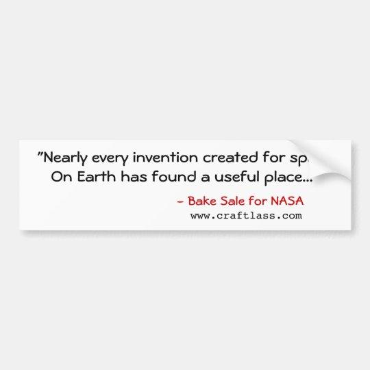 "BSfN ""Inventions"" Bumper Sticker"