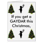 bsg gaydar, christmas tree, christmas tree, chr... cards