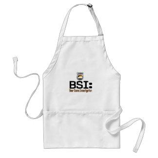 BSI:  Bear Scene Investigation Adult Apron