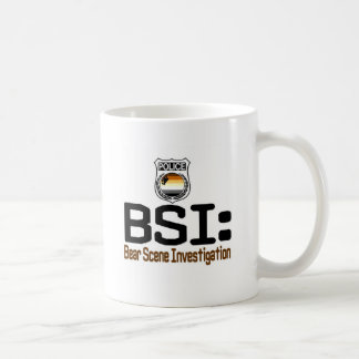 BSI:  Bear Scene Investigation Coffee Mug