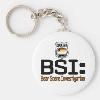 BSI:  Bear Scene Investigation Keychain