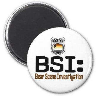 BSI:  Bear Scene Investigation Magnet