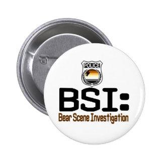 BSI Investigación de la escena del oso Pin