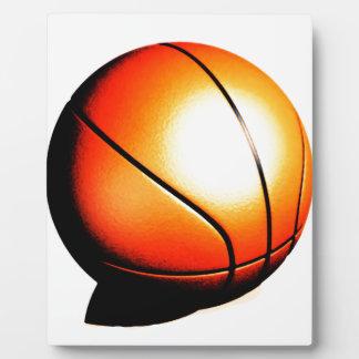 Bsketball Plaque