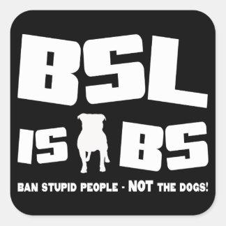 BSL es BS - pegatina
