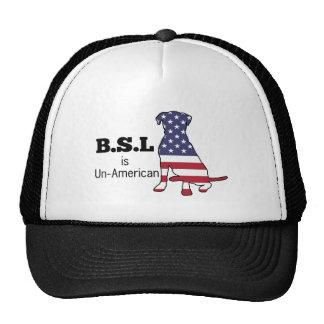 BSL is Un-American, Pitbull Support Trucker Hat