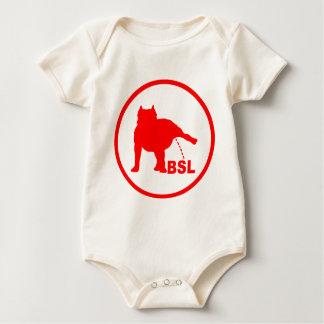 BSL - PIT BULL BABY BODYSUIT