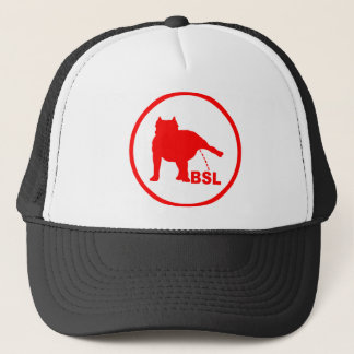 BSL PITBULL TRUCKER HAT