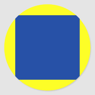 BSOD: Background Classic Round Sticker