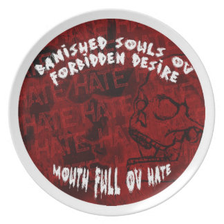BSOFD Mouth Full Ov Hate Plate