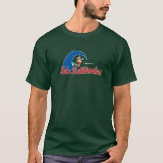 BT234 - Mele Kalikimaka Surfing Santa T-Shirt