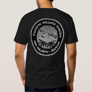 BT256 - Pacific Island Tours - Black/White Version T Shirt