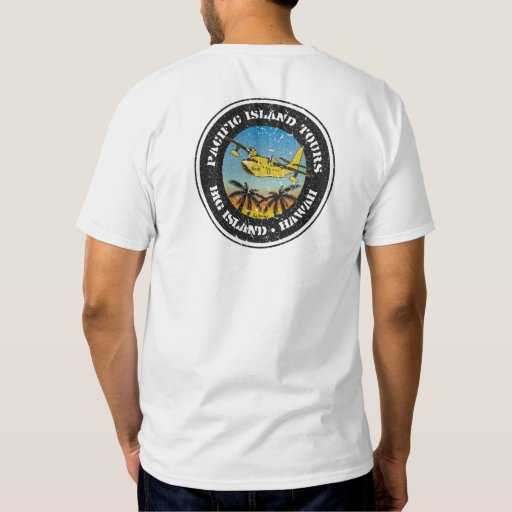 BT256C - Pacific Island Tours T-shirt