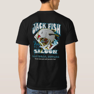 BT279 - Jack Fish Saloon Las Vegas Nevada T-shirt
