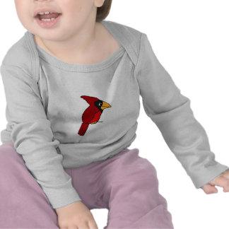 BT camisa cardinal divertida del bebé