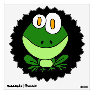 BT- Funny Frog Wall Decal