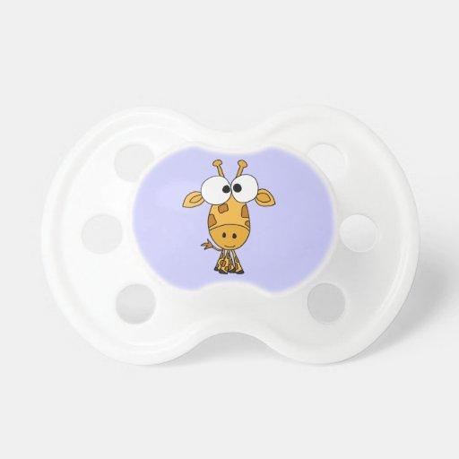 BT Funny Giraffe Baby Pacifier Zazzle
