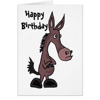 BT- Funny Mule Birthday Card
