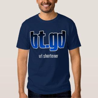 bt.gd url shortener t-shirts