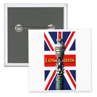 BT Tower London Button