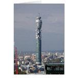 BT Tower, London, England. Card