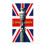BT Tower London Postcard