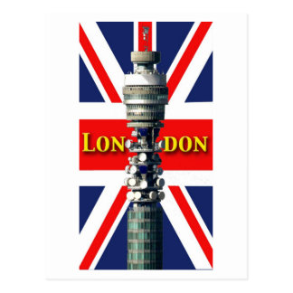 BT Tower London Post Cards