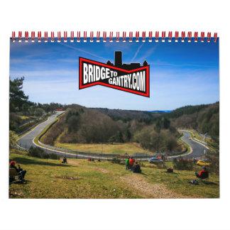 BTG:2016 - A year of Nordschleife Calendar