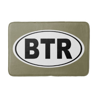 BTR Baton Rouge Louisiana Bath Mat