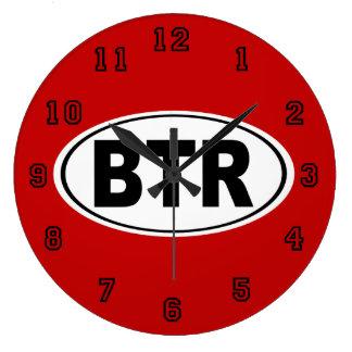 BTR Baton Rouge Louisiana Large Clock