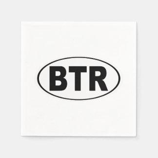 BTR Baton Rouge Louisiana Napkin