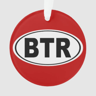 BTR Baton Rouge Louisiana Ornament