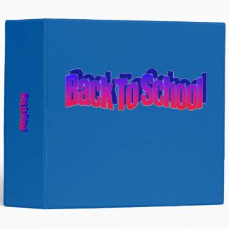 BTS-Red-Blue 3 Ring Binder