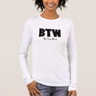 BTW black Long Sleeve T-Shirt