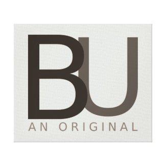 BU An Original Canvas Print