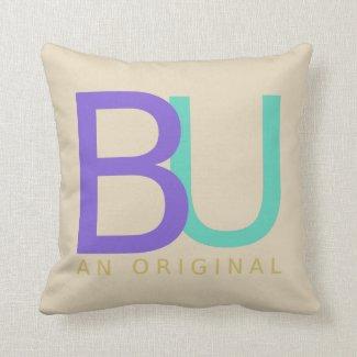 BU An Orginal Throw Pillow