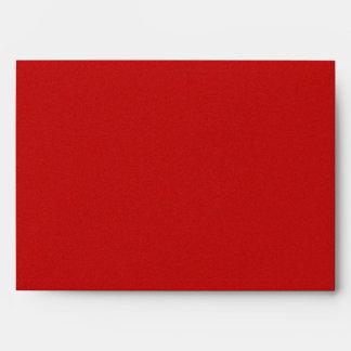 BU Red Star Dust Envelope