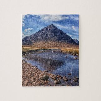 Buachaille Etive Mhor , Glen Coe , Scotland Jigsaw Puzzle