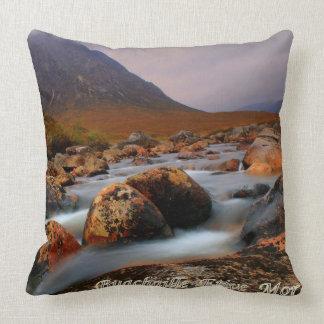 Buachaille Etive Mor Throw Pillows