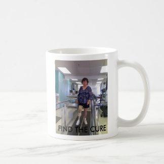 BUB.JPG, FIND THE CURE COFFEE MUG