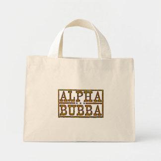 Bubba alfa bolsa tela pequeña
