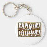 Bubba alfa llaveros personalizados